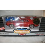1:18 Ertl Cannaday's 1969 Camaro SS396 red NIB Ltd Ed of 2000 - $45.99