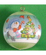 "SALE! 1980 Hallmark Keepsake Satin Ornament, ""Grandson"" - Holiday Sale! - $2.95"