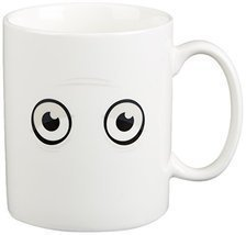 Fred & Friends WAKE-UP CUP Heat-Sensitive Color Changing Mug [Kitchen] - £7.03 GBP