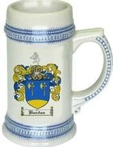 Burdun Coat of Arms Stein / Family Crest Tankard Mug - $21.99
