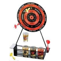 Crystal Clear Shot Glass Darts Bar Game Set [Ki... - $21.44