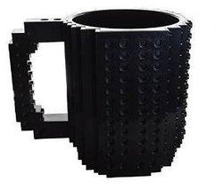 Build-On Brick Mug - Black - £15.55 GBP
