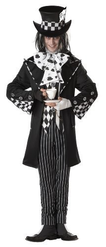 California Costumes Men`s Dark Mad Hatter Costume,Multi,Medium [Apparel]