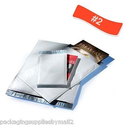 700 #2 Poly Bubble Mailers 8.5x12 Padded Shipping Mailing Envelope Bag 8x 12 700