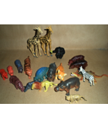 African Animals - Lot of 19 assorted animals - $5.50