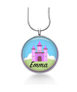 Personalized  Necklace - Childs necklace, personalized gift, gifts for g... - $18.32