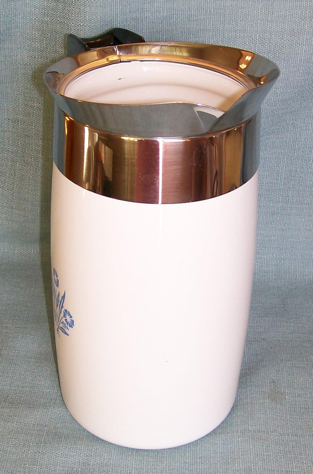 Corning Ware BLUE CORNFLOWER Electric Coffee Pot/Percolator 10 cup P-80-EP EUVC image 5
