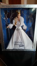 Mattel # B2519 2003 Special Edition Holiday Visions Barbie First in Seri... - $17.75