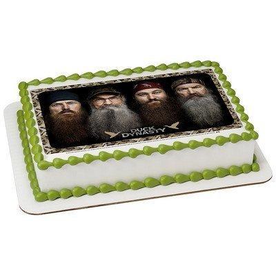 1/2 Sheet Duck Dynasty-Happy Happy Edible Image Cake ...