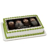 1/2 Sheet Duck Dynasty-Happy Happy Edible Image Cake Topper - $19.99