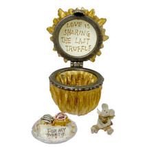 "Boyds Treasure Box""Lovie's Truffle w/Cupid McNibble"" #82056 -NIB- 2003 - $22.99"