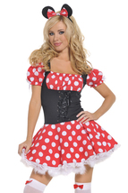 Minnie Mouse Minidress Costume - $35.00