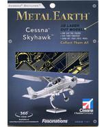 Metal Earth CESSNA 172 SKYHAWK 3D Puzzle Micro Model - $9.89