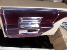 1987 d'Elegance RED RIGHT REAR DOOR PANEL OEM USED BROUGHAM DEVILLE FLEE... - $214.58