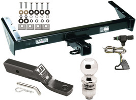 Complete Trailer Hitch Pkg w/WIRING Kit For 85-86 Chevy C/K 87-91 R/V Suburban - $239.52