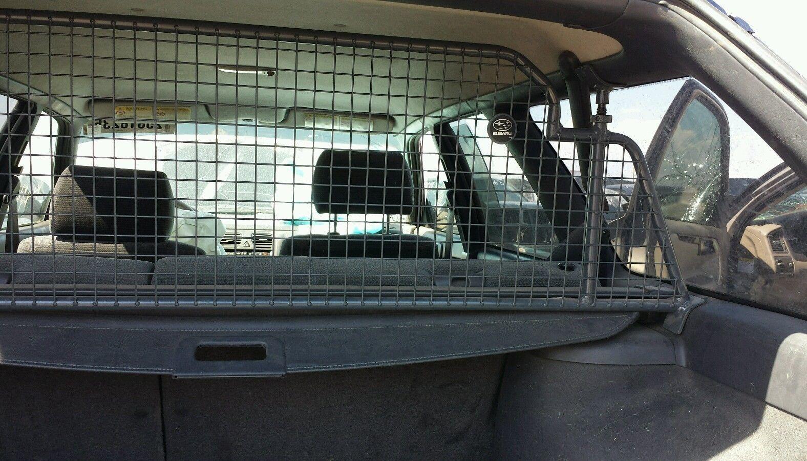 Subaru Metal Dog Barrier Divider 1996 99 Legacy Wagon