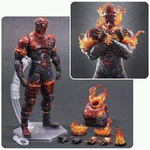 Metal Gear Solid V: The Phantom Pain The Man on Fire Play Arts Kai Figure - $99.95