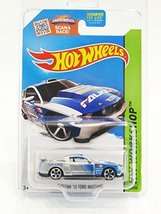 2015 Hot Wheels HW Workshop HW Drift Race Custom '12 Ford Mustang #240/2... - $2.74