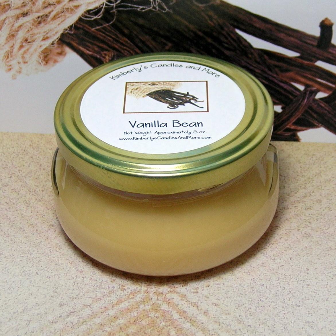 Wickless vanilla bean 1
