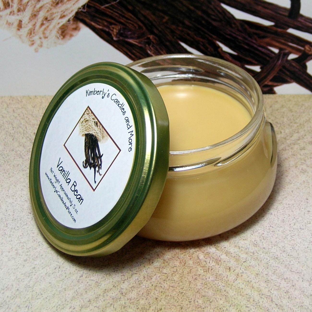 Vanilla Bean 6 oz. Tureen Jar Wickless Candle