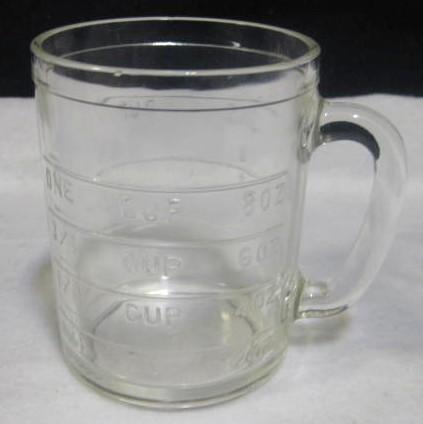 Hazel Atlas Dry Measuring Cup