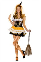 Candy Corn Witch Costume - $35.00