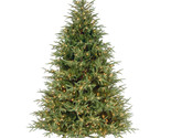 7 green grande artificial christmas tree with 1000 pre lit clear lights with stand thumb155 crop