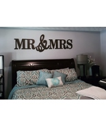 MR & MRS Wall Decor,Wood letters-King Size - $85.00