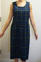Vintage Pendleton Authentic Smith Tartan Plaid Wool English Country Dress USA 10 - $60.00