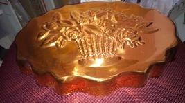 Vintage Copper Flower Bouquet Mold image 3