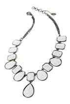 Amrita Singh Silver Drop Necklace - $60.00