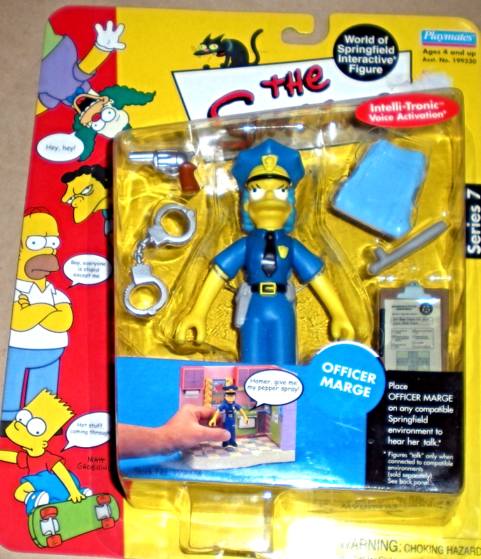 Simpson's Series 7 - Marge The Cop From Playmate