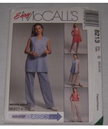 McCalls Sewing Pattern #8213 Womens Vest Pants Shorts Skirt Size G - NEW - $7.91