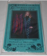 Tabitha Quilts Seminole Checks Long Vest Sewing Pattern S-XL  - NEW - $9.89