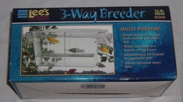 Lees Aquarium 3 Way Breeder Medium Multi Purpose #10255 NEW - €13,75 EUR