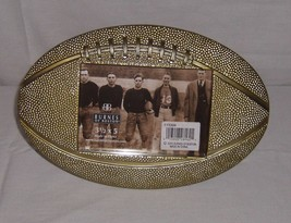 "Burnes of Boston Antiqued Sport Bronze Football Photo Frame 5""x3.5"" Phot... - $17.80"