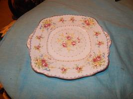 Petit Point Royal Albert bone china Tabbed Plate  England Free shipping #12 - $32.99