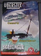 Uberstix Building Kit Scavenger Recycling Series Pirate Ship Uberfo UFO ... - $17.81