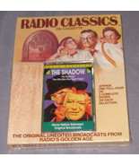 Radio Classics On Cassette The Shadow The Little Man Who Wasn't There Ne... - $9.90