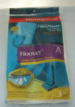 Honeywell Hoover Type A Vacuum Cleaner Bags  Fi... - $4.94