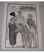 Ann Person Sewing Pattern #305 Tank Collection Adult Children Tanks Dres... - $7.91