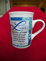 Love Bears All Things Believe's All Things  Bay Island Inc Coffee Mug Cup - £2.24 GBP