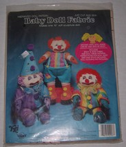 Valiant Crafts Preprinted Doll Pattern Baby Dol... - $10.88