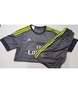 Real Madrid 15-16 Away Men's Shirt + Shorts Kit Number 19 Size M NWT  - $40.59
