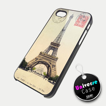 Paris Eiffel Tower Vintage iPhone 5 Case Hard Plastic - $15.99