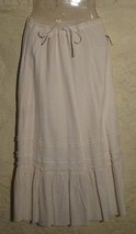 White Peasant Skirt Sz.6  NWT! - $8.79