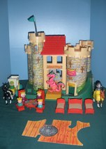 Vintage Fisher Price Play Family #993 Castle Co... - $225.00