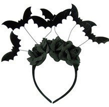 Halloween Black Bat Headband Costume Accessory - $362,13 MXN