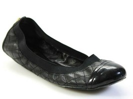 Tory Burch Womens Quilted Leather Ballet Flats Black shoes Size 9 - $75.00