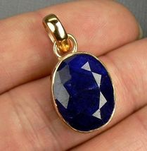 Genuine  Sapphire Sterling Silver Pendant  - $33.73